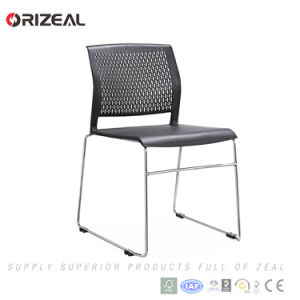 Orizeal Stackable Office Chair, Visitor Chair, Plastic Office Guest Chair pictures & photos