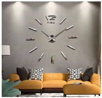 Large DIY European Sitting Room Wall Clock Gift