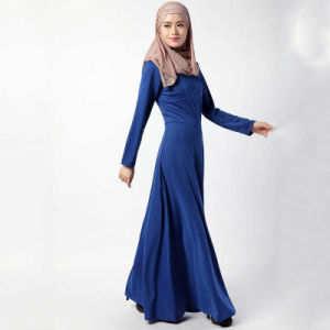 Muslim Women Clothing Latest Design Simple Gowns Abaya pictures & photos