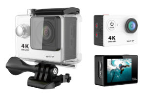 Remote Action Camera 4k WiFi Ultra HD Waterproof Mini Cam Sports Camera pictures & photos