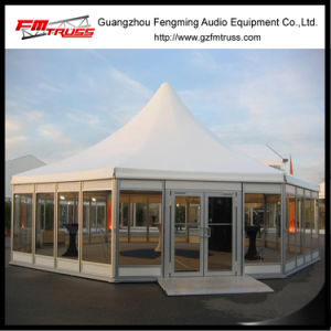 Outdoor PVC and Glass Wall Polygon Tent for Party, Wedding and Exhibition pictures & photos