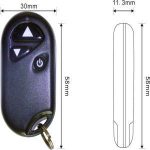 1 Channel 3 Key Buttons Remote to Control LED Light pictures & photos