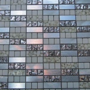 Modern Style Flashy Crystal Glass Mirror Glitter Tile Kitchen Mosaic pictures & photos