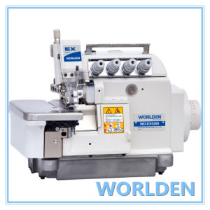 Wd-Ex5200 High Speed Four Thread Overlock Sewing Machine pictures & photos