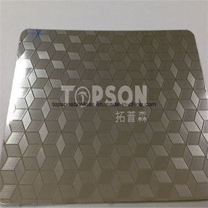 High Strength Embossed 304 Stainless Steel Diamond Floor Plate pictures & photos