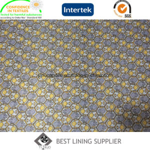 100 Polyester Twill Printed Lining Fabric for Men′s Suit and Jacket pictures & photos