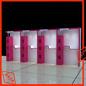 Wall Mounted Cosmetic Display Cabinets with Lights pictures & photos
