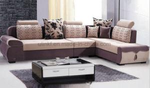 Modern Fabric Sofa Wooden Frame Sofa (HX-SL043) pictures & photos