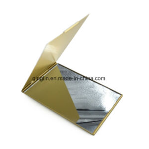 New Fashion Design Promotion Gift Aluminum Makeup Mirror pictures & photos