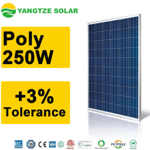 Free Shipping Polycrystalline Solar Panel 250W pictures & photos