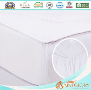 Saint Glory Hotel Polyester Cover Anti-Allergy Mattress Pad pictures & photos
