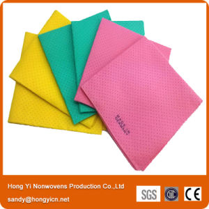 Made in Germany Style Nonwoven Fabric Cleaning Cloth, with Holes