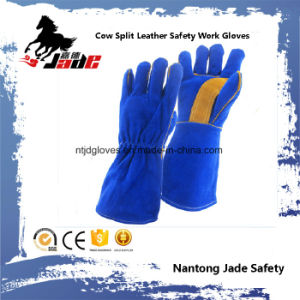 Cowhide Split Leather Industrial Hand Safety Welding Work Glove pictures & photos