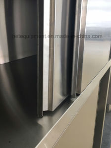 Heavy Duty Stainless Steel Storage Cabinet with Sliding Doors pictures & photos
