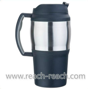 800ml Doule Wall Plastic Travel Beer Mug (R-BK007) pictures & photos