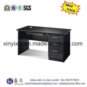 Simple Staff Computer Table Melamine Office Furniture (MT-2424#) pictures & photos