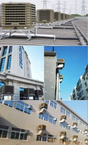 Roof Mounted Large Airflow and Side Discharge Evaporative Air Cooler pictures & photos