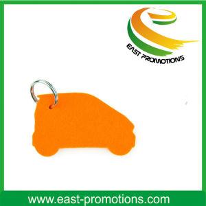Custom Multicoloured Fashion Felt Printed Keychain pictures & photos