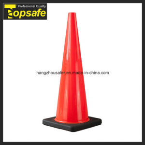90cm Soft PVC Cone with Black Base (S-1239) pictures & photos