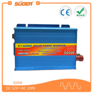 Solar Power Inverters 500W DC 12V to AC 220V Car Inverter (FAA-500A) pictures & photos
