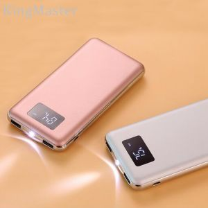 10000mAh Larger Capacity Metal Portable Power Bank with Dual Output pictures & photos