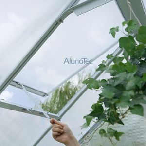 Aluminum Twin Wall Polycarbonate Garden Greenhouse pictures & photos