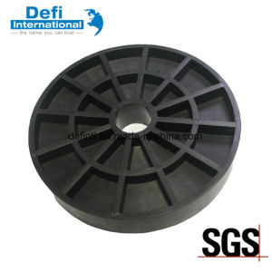 Black Nylon Plastic Flange for Forklift Parts pictures & photos