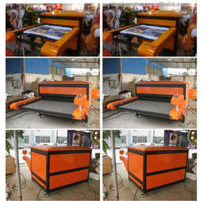 T-Shirt Automatic Hydraulic Sublimation Heat Press Machine Cy-001b 100X120cm pictures & photos