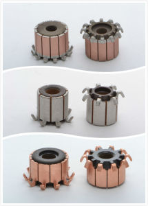 Hooks Groove Type Commutator for DC Motor with Car Motor (28 Hooks ID10mm OD24.5mm L13.97mm) pictures & photos