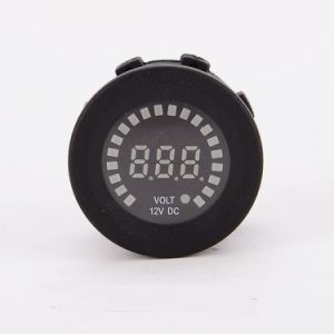 Car Motorcycle Waterproof Boat LED Digital Panel Display Voltmeter Battery Capacitor pictures & photos