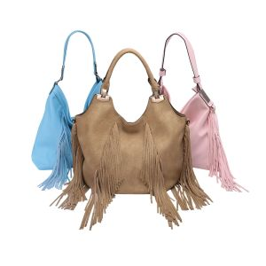 Large Fringe Women Shoulder Hand Bag (MBNO041051) pictures & photos