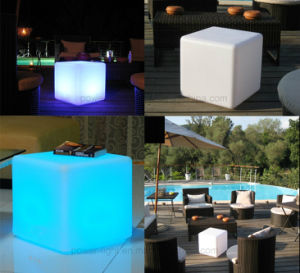 Rechargeable RGB Bar Furniture Lighting LED Cube Seat pictures & photos