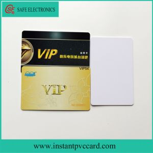 Cr80*30mil Size Blank Inkjet Printable PVC Card pictures & photos