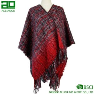 Fashion Women Winter Classic Shawl pictures & photos