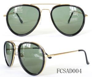 Premium Plating Rhinestone Retro Metal Sunglasses for Lady pictures & photos