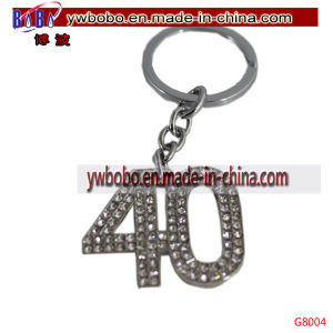 Party Products Diamante 40 Keychain Keyring 40th Birthday Gift (G8004) pictures & photos