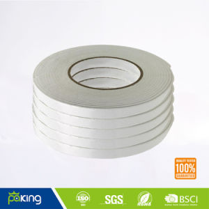 Fast Delivery with White Color Double Side PE Foam Tape pictures & photos