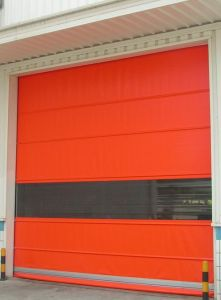 Security Automatic PVC High Speed Fast Rolling Door Shutter for Forklift Sanitary Warehouse pictures & photos
