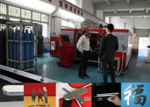 Top Quality 500W Ipg Fiber Laser Cutting Machines for Stainless Steel Cutting pictures & photos