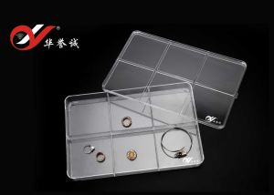 6 Grids Rectangle Jewelry Display Plastic Box pictures & photos