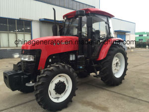 Suyuan Sy-1204 4WD Agricultural Farm Wheeled Tractor