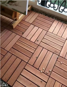 Outdoor Merbau Solid Wood Flooring with Ce Certification pictures & photos