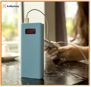 Cheap Large Capacity Colorful Mobile Power Bank with LED Display pictures & photos