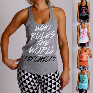 Womens Gym Yoga Sports Racerback Tank Top/Singlet/Vest (A848) pictures & photos