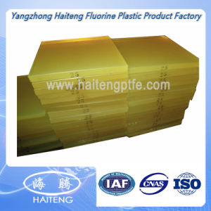 Yellow Transparent Color Polyurethane Sheet PU Sheet Made with 100 % Virgin Polyether Material pictures & photos