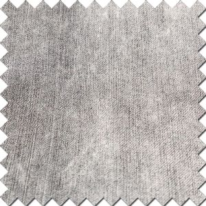 Black Cotton Polyester Denim Fabric for Fashion Jeans