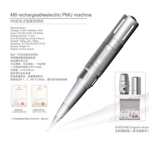 CE Rechargeable Tattoo Permanent Makeup Machine pictures & photos