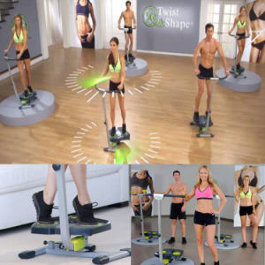 Ab Trainer Workout Machine Twist and Shape Stepper pictures & photos