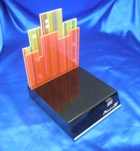 Customize Clear Acrylic Advertising Display Stand pictures & photos