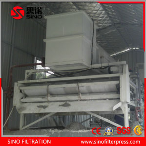 Stainless Steel Belt Filter Press Equipment for Sludge Dewatering pictures & photos